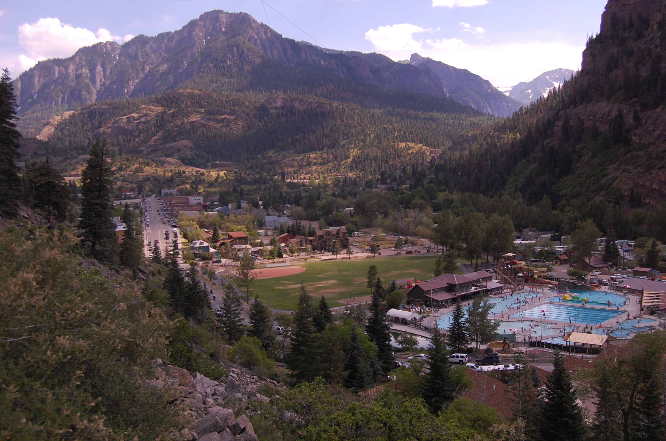 <h1>Ouray Hot Springs</h1>